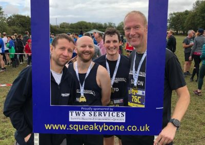 Squeaky Bones Relay 2nd place winners 2019