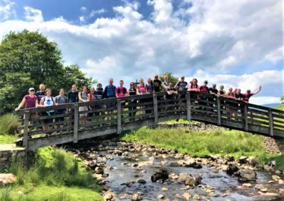 Striders tour of Yorkshire Three Peaks - one peak to go!