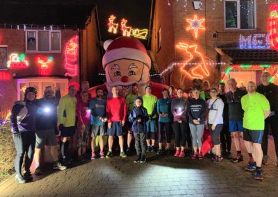 Xmas lights run 2018