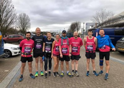 20 mile runners at MK Festival of running 2020