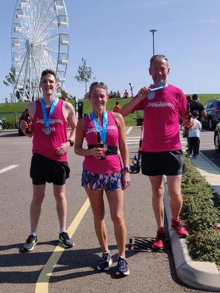 3 striders complete the MK Reimagined Marathon