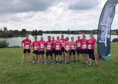 Furzton relay runners 2021