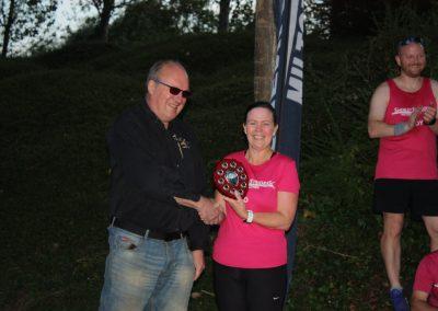 Winner Joanne Booth - Jane Edwardson Handicap Race 2021